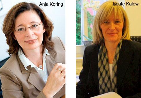 Calow Beate, Koring Anja