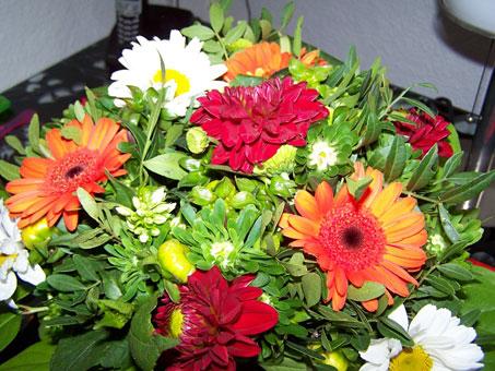 Blumenkorb an der Weide Andrea Ritlewski