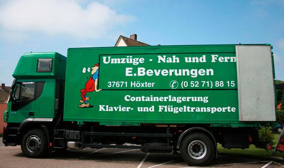Bild 1 Umzüge Ernst Beverungen Inh. Detlef Beverungen in Höxter