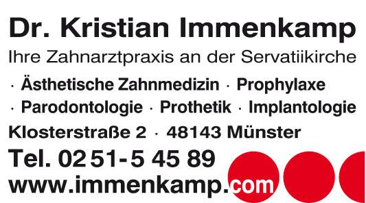 Immenkamp Kristian Dr.