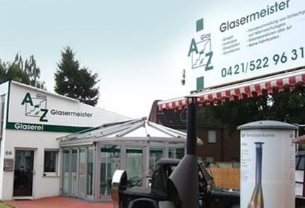 Bild 1 A - Z GLAS in Bremen