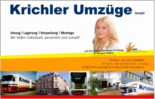 Bild 1 Krichler Umzugs-Logistik GmbH in Bielefeld