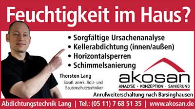 Bild 1 Abdichtungstechnik Lang GmbH & Co. KG in Barsinghausen