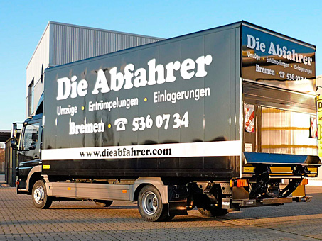 Bild 3 Die Abfahrer OHG in Bremen