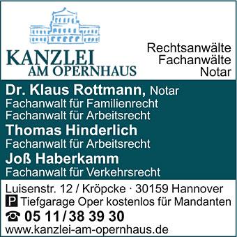 Dr. Rottmann, Hinderlich, Haberkamm Kanzlei am Opernhaus