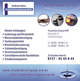 Bild 1 Schadenbeseitigung NRW GmbH in Petershagen