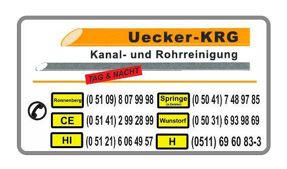 KRG Kanal- und Rohrreinigungs-Gesellschaft Uecker