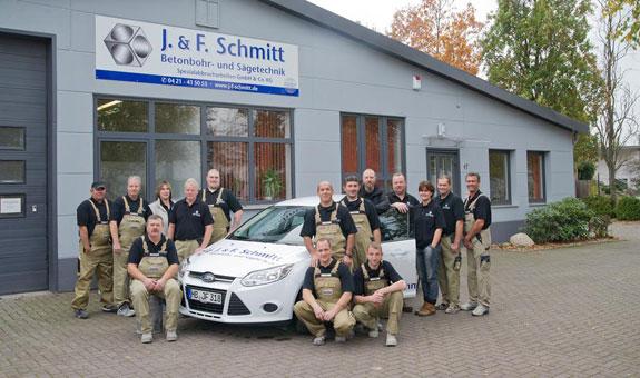 Bild 1 J & F Schmitt GmbH Betonbohr- und Sägetechnik in Bremen