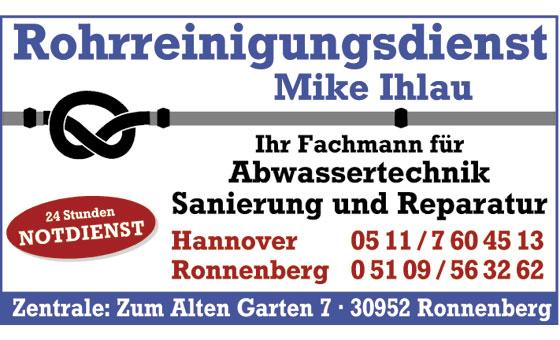 Ihlau Mike Rohrreinigungsdienst