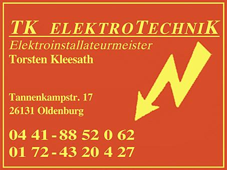 Bild 1 TK Elektrotechnik - Inhaber Torsten Kleesath in Oldenburg