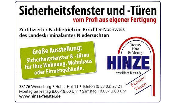 Bild 1 Hinze Fenster & Türen GmbH in Wendeburg