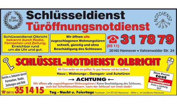 Bild 3 Olbricht in Hannover