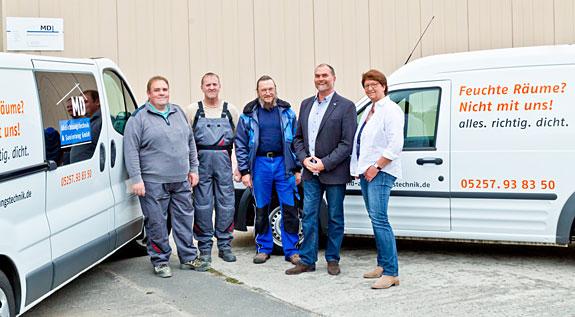 Bild 1 MD Abdichtungstechnik & Sanierung GmbH in Hövelhof