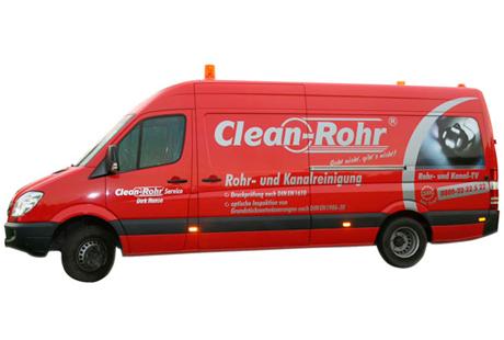 Bild 1 Clean-Rohr Service Hanse ... seit 20 Jahren das Original in Hannover