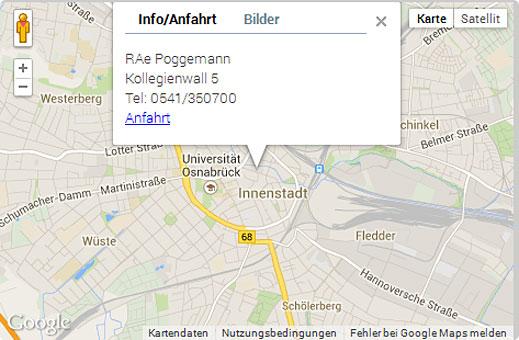Bild 5 Dr. Poggemann Rechtsanwälte & Fachanwälte in Osnabrück