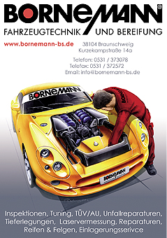 Bornemann Fahrzeugtechnik und Bereifung