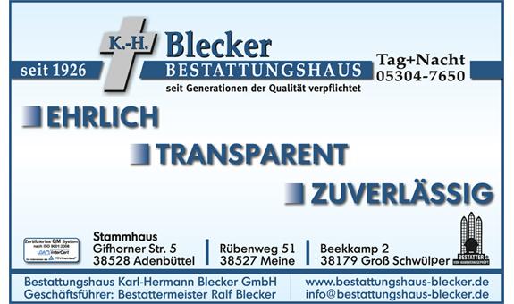 Bild 4 Bestattungshaus K.-H. Blecker GmbH in Adenbüttel