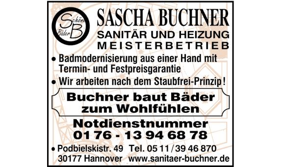 Bild 1 Buchner in Hannover