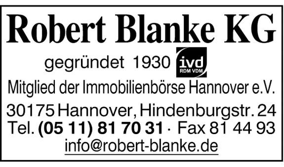 Blanke KG, Robert