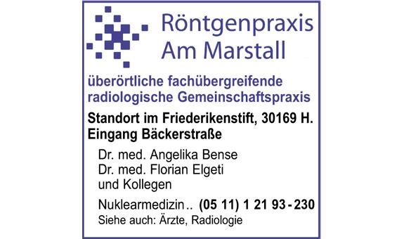 Röntgenpraxis am Marstall