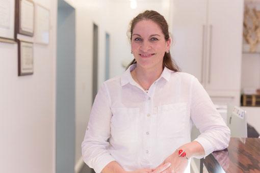 Yvonne Köppe, Praxismanagerin