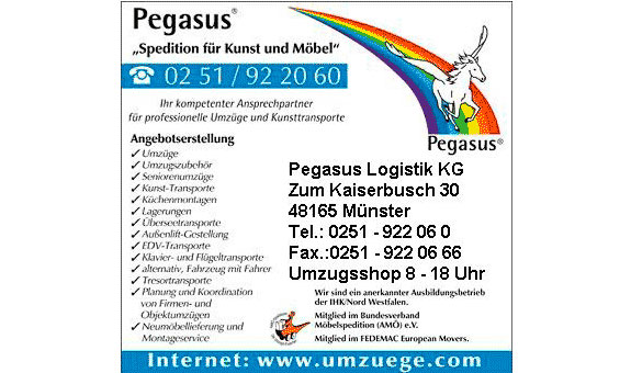 Bild 1 Pegasus Logistik KG in Münster
