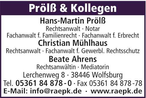 Hans-Martin Prölß u. Kollegen