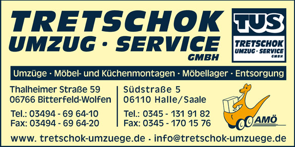 Bild 1 Tretschok Umzug Service GmbH in Wolfen