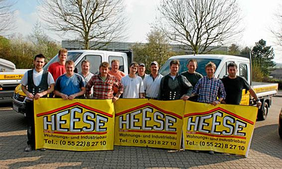 Heese GmbH Baugeschäft