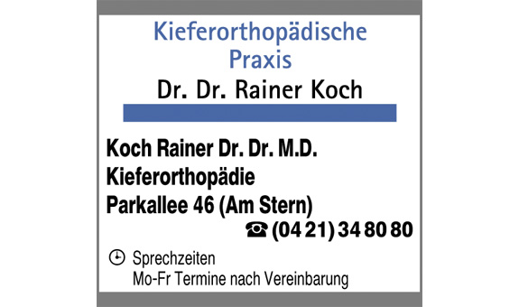 Logo von Koch Rainer Dr.Dr.
