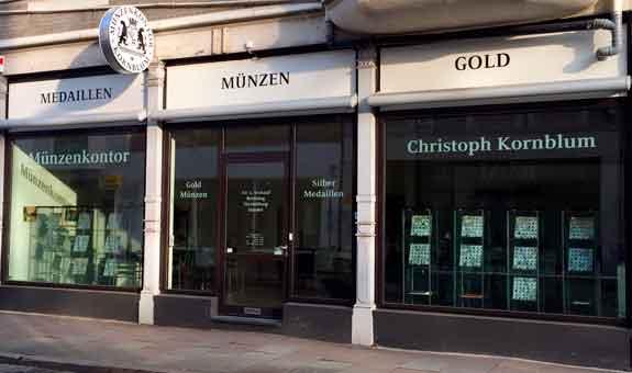 Bild 2 Münzenkontor Kornblum in Bremen