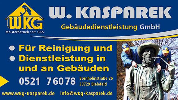 Bild 2 W. Kasparek in Bielefeld