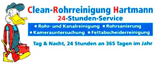 Clean-Rohrreinigung Hartmann