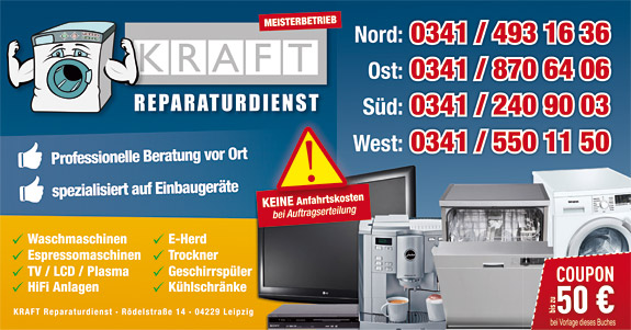 HAUSGERÄTE KRAFT REPARATURSERVICE