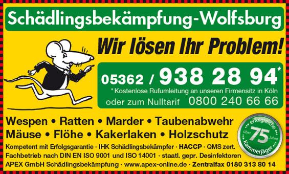 APEX GmbH Schädlingsbekämpfung