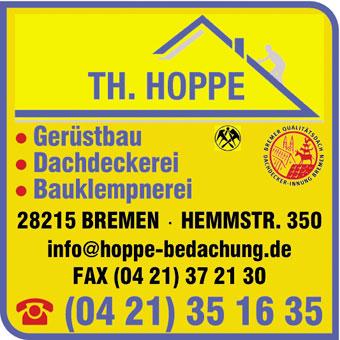 Hoppe Bedachungs- und Gerüstbau GmbH