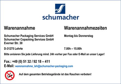 Bild 4 Schumacher Packaging Services GmbH in Lehrte