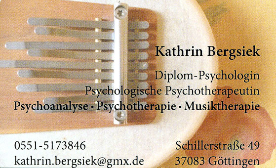 Logo von Bergsiek Kathrin Dipl. Psychologin, Psychologische Psychotherapeutin