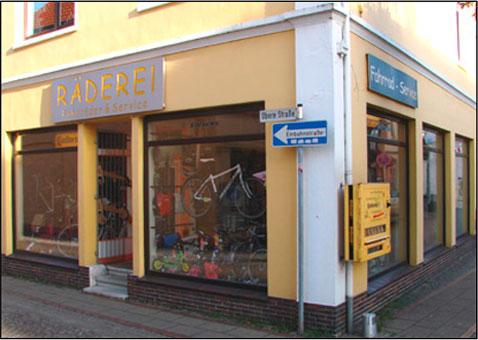 RÄDEREI Fahrräder + Service
