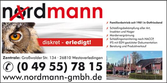 Bild 1 Nordmann GmbH in Westoverledingen