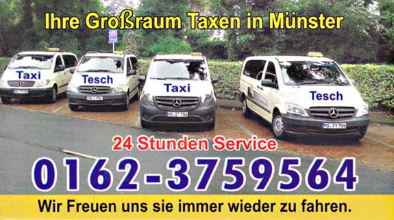 Bild 1 Taxiunternehmen Yvonne Tesch in Münster