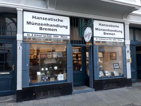 Bild 1 Hanseatische Münzenhandlung Bremen GmbH in Bremen