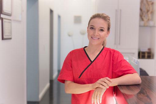 Stephanie Heyms, Zahnmedizinische Prophylaxe-Assistentin