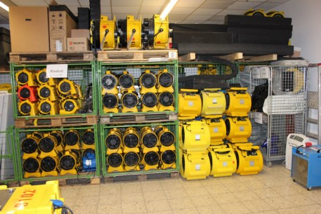 Bild 7 SAN TEC Brand- Wasserschadensanierung GmbH NL Nienstädt in Nienstädt