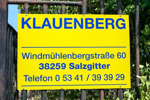Bild 1 Klauenberg GmbH & Co. KG in Salzgitter