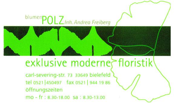 Logo von Blumen Polz Inh. Andrea Freiberg