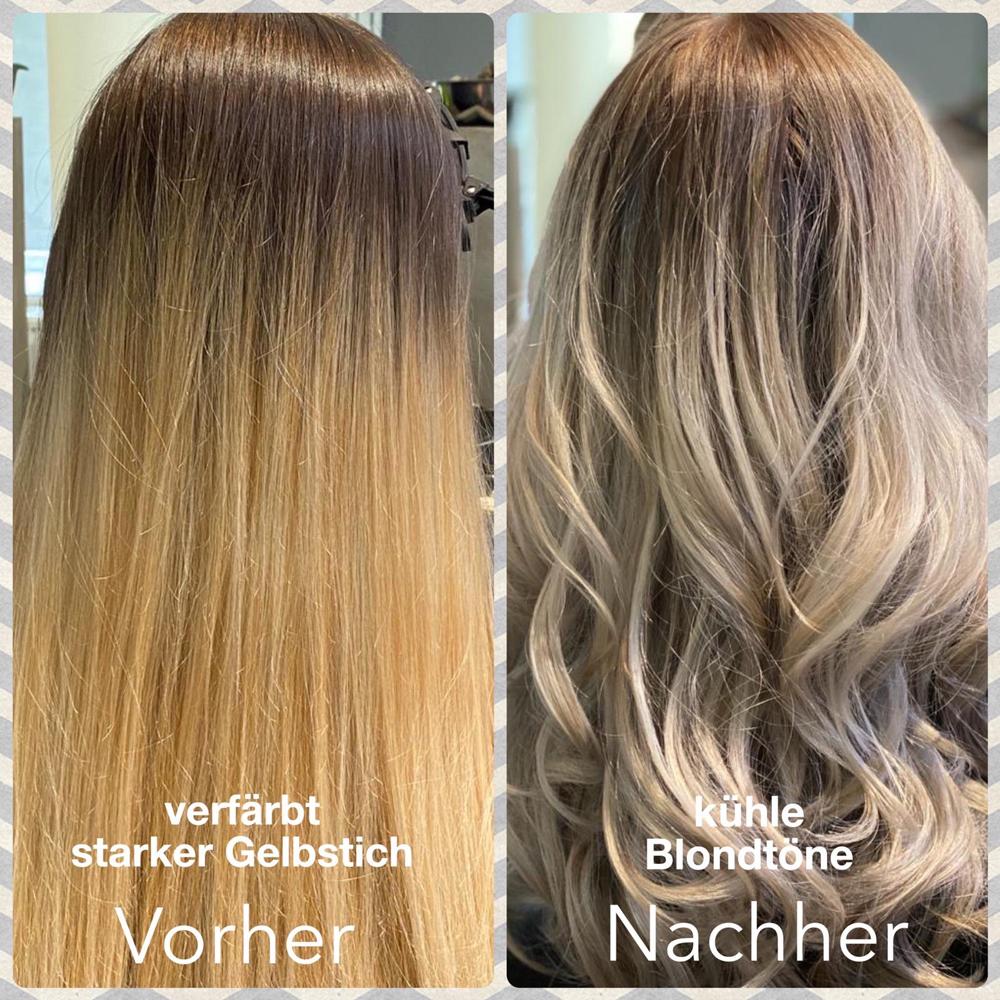 Strähnen verschiedene blondtöne Blondtöne