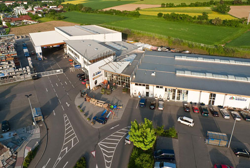 Bild 1 Kömpf Bauzentrum in Calw