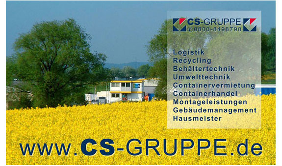Bild 1 CS - Gruppe CS Container & Recycling KG in Schkeuditz
