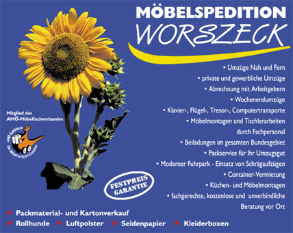 Bild 1 Worszeck Möbelspedition & Umzüge in Lörrach